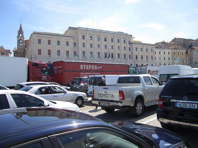 Samochody parking