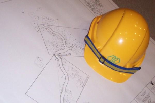 Kosztorysant na placy budowy