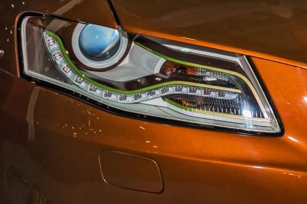 Audi lampy