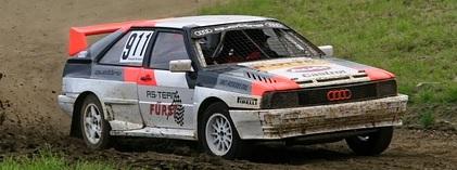 Audi quattro rajd