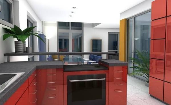 Wygląd nowoczesnego mieszkania