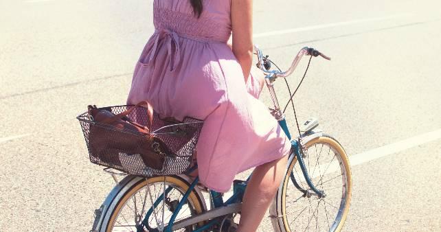 Damskie rower miejski