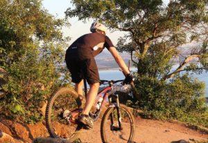 rower mtb na trasie