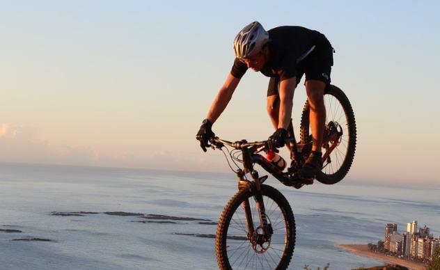 rower enduro w akcji