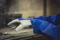 Rękawice gumowe ochronne