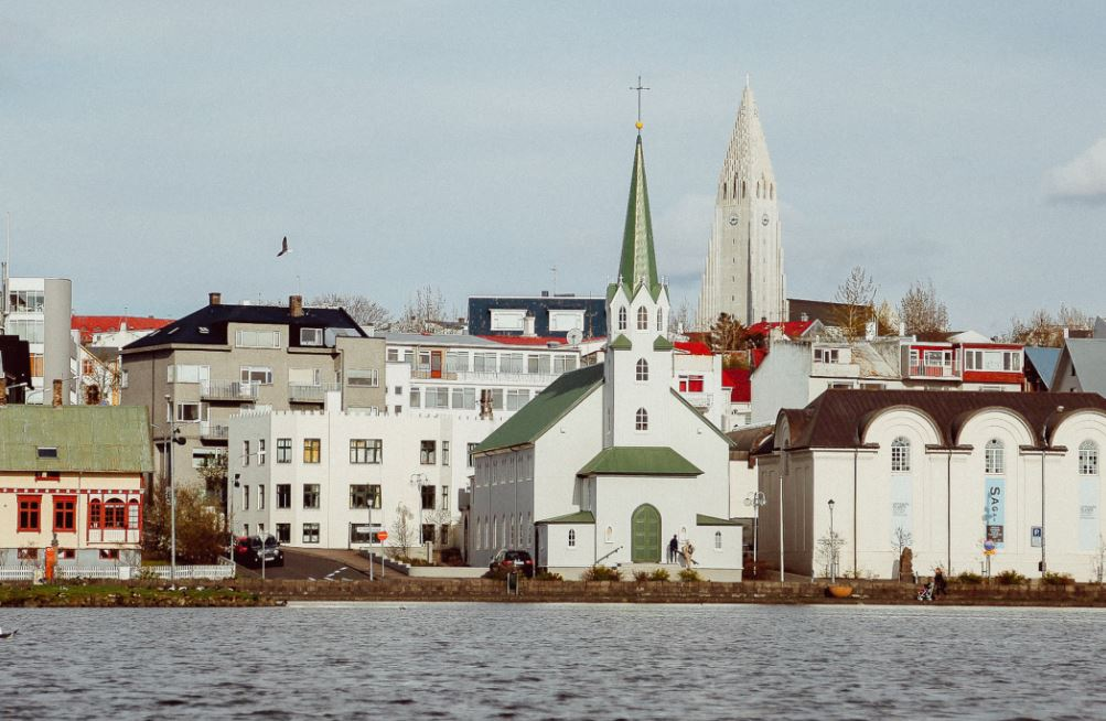 Miasto w Skandynawii