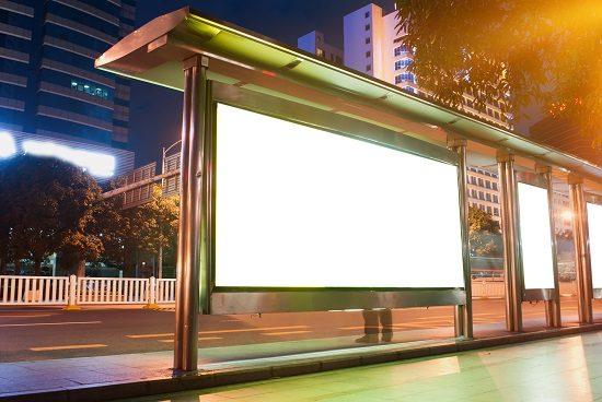 reklama na przystankach