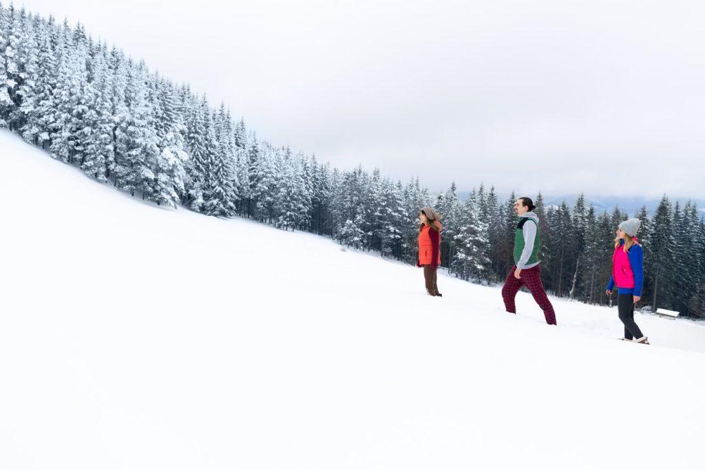 Śnieg w Austrii